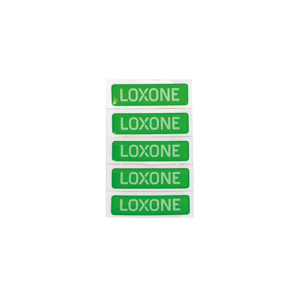 Sticker Loxone