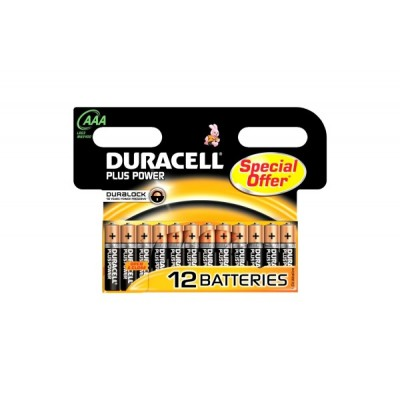 Duracell Plus Power AAA (12 Stk)