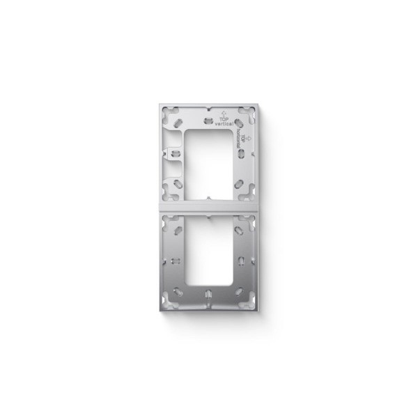 Mounting Bracket Double Silver